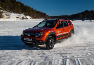 Режем ладожский лед «когтями» полноприводных Renault