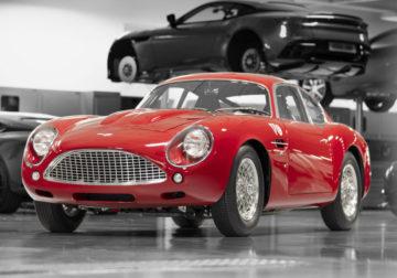 Классический Aston Martin DB4 GT Zagato: переиздание