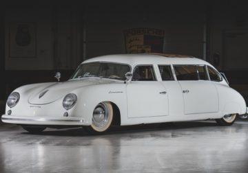 Это что-то новое: свадебный лимузин Porsche